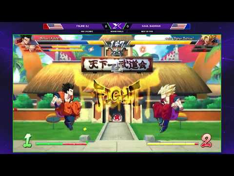 F@X 241 DBFZ - FSLink Vs. Saul Badman - Grand Finals - Dragon Ball FighterZ