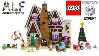 Lego Creator 10267 Gingerbread House - Lego Speed Build Review