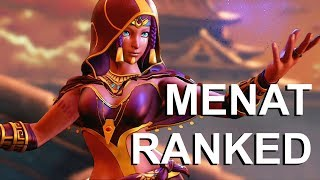 Menat Ranked Play Part 1! Street Fighter V Ranked