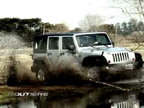 Routiere test jeep wrangler sport unlimited pgm131g youtube routiere test jeep wrangler sport unlimited pgm131g sciox Choice Image