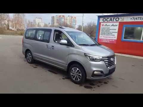 Заказной Hyundai Grand Starex Urban Exclusive, цвет серый, 2018 2019, 4WD