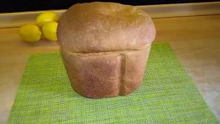 Простой белый хлеб в хлебопечке Panasonic SD-2501