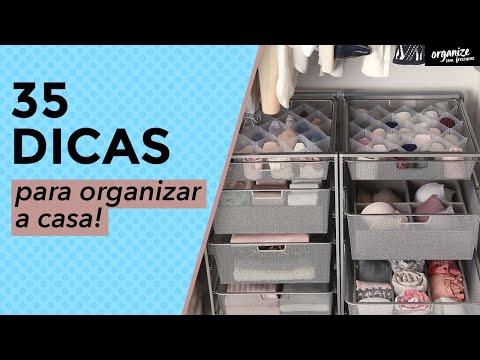 35 DICAS INCRÍVEIS PARA ORGANIZAR A CASA | OSF - Rafa Oliveira