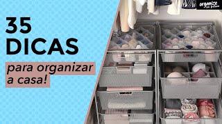 35 DICAS INCRÍVEIS PARA ORGANIZAR A CASA   OSF - Rafa Oliveira