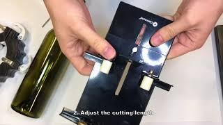 Genround Glass Bottle Cutter 1. 0 - How to cut a glass bottle cutter