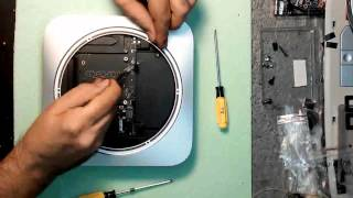 Разборка Mac mini 2014 года | Mac mini 2014 disassembly