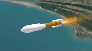 Atlas V GOES-S Mission Profile