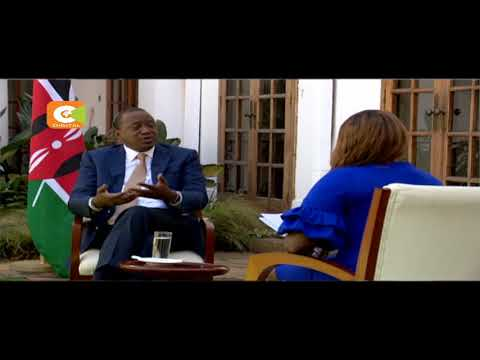 Kenyatta : Kenyans are tired , they want to move forward