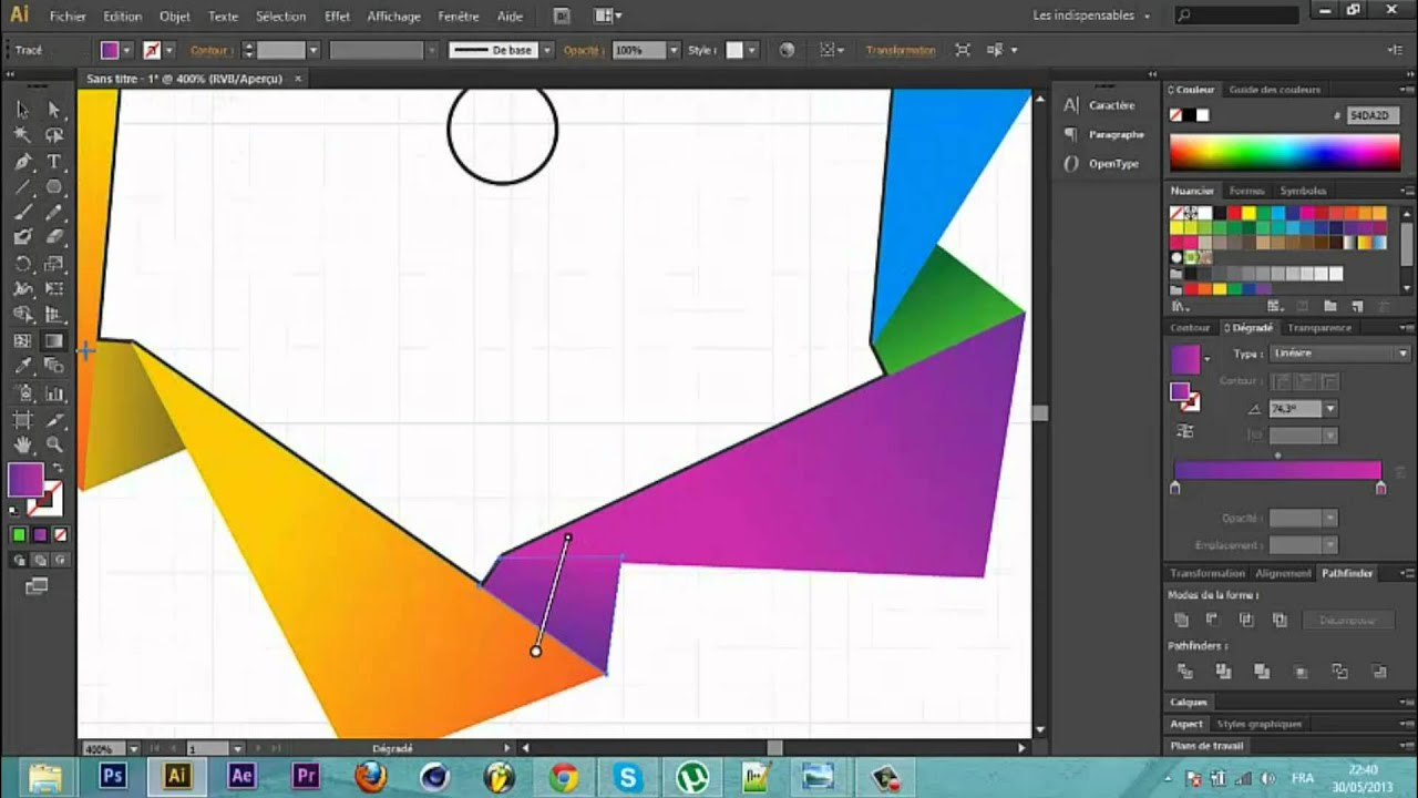 Adobe Illustrator CS6 screenshot