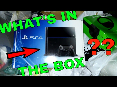WHAT'S IN THE BOX?!? Gamestop Dumpster Dive Night #186