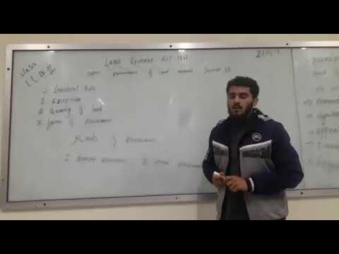 Assessment of land renue  lecture6