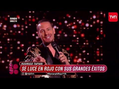 Rodrigo Tapari en vivo en Rojo, El Color del Talento por TVN