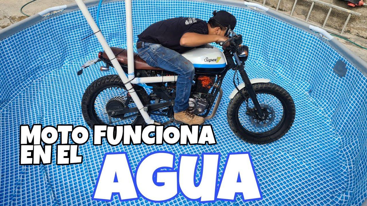 Maneje Mi Moto Debajo Del AGUA