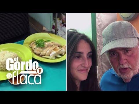 Raúl hizo esperar a Mía 40 minutos por un pollo (esto vivió con su familia en Asia)   GYF