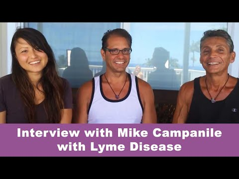 Dr Robert Cassar/ Dr Mari Interview Mike Campanile, Long Island with Lymes infection 2015