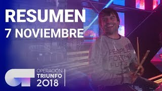 Resumen diario OT 2018 | 7 NOVIEMBRE