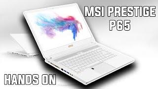 MSI Prestige P65 Creator - CES 2019