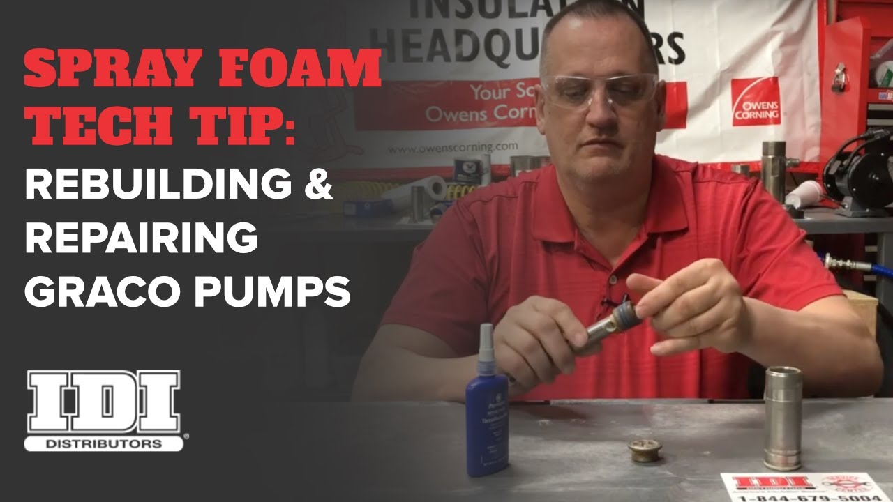 Tech Tip: Rebuilding Graco E-series Pumps (Pump Repairs)