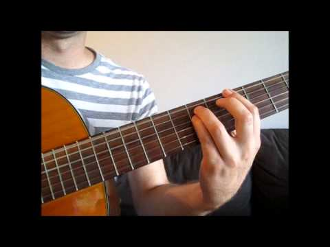 Macklemore & Ryan Lewis - Thrift Shop - How to Play on Guitar - Guitar Lesson Chords Lead