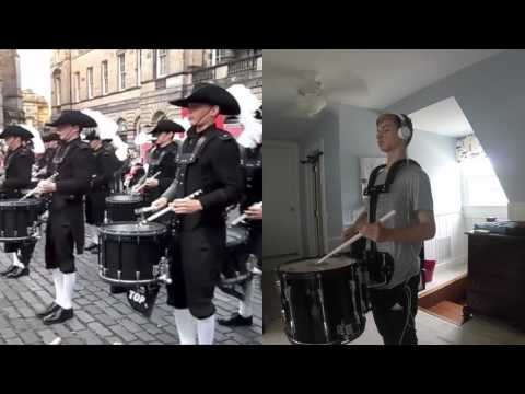 Top Secret Drum Corps -  16 year old Drummer plays along side