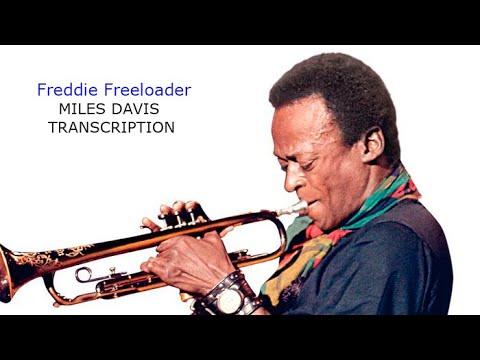 Freddie Freeloader. Miles Davis' (Bb) Solo. Transcribed by Carles Margarit