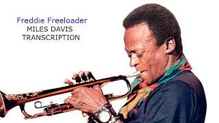 Freddie Freeloader. Miles Davis