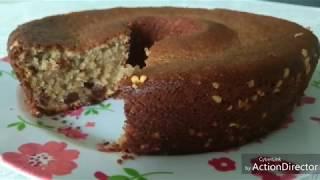БРАЗИЛЬСКАЯ КУХНЯ: Овсяно-банановый пирог (без муки)