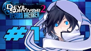 Devil Survivor 2: Record Breaker - Walkthrough Part 1 Opening / Battle Against The Triangulum [HD]