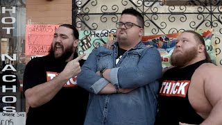 Heavy Machinery take WWE travel package purchasers on a food tour in Chicago