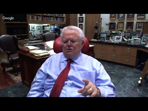 CUFI U on Youtube with Pastor John Hagee