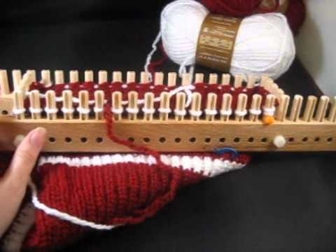 How To Decrease Stitches On Knitting Loom : Decreasing on an Adjustable Loom In the Round by Jeannie Phillips - YouTube