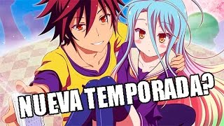 NO GAME NO LIFE TENDRA 2DA TEMPORADA? | PREGUNTAS ANIME #19