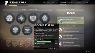 Up To 70% Double Kills Progress - Mountaintop Quest (Destiny 2 - Distant Shore - GOLD Clan)