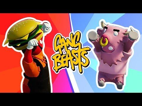 THE RETURN of Gang Beasts! Husband vs Wife