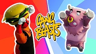 THE RETURN of Gang Beasts! Husband vs Wife