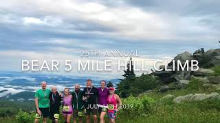 It's Just One Hill... The Bear Hill Climb Race to Grandfather Mountain