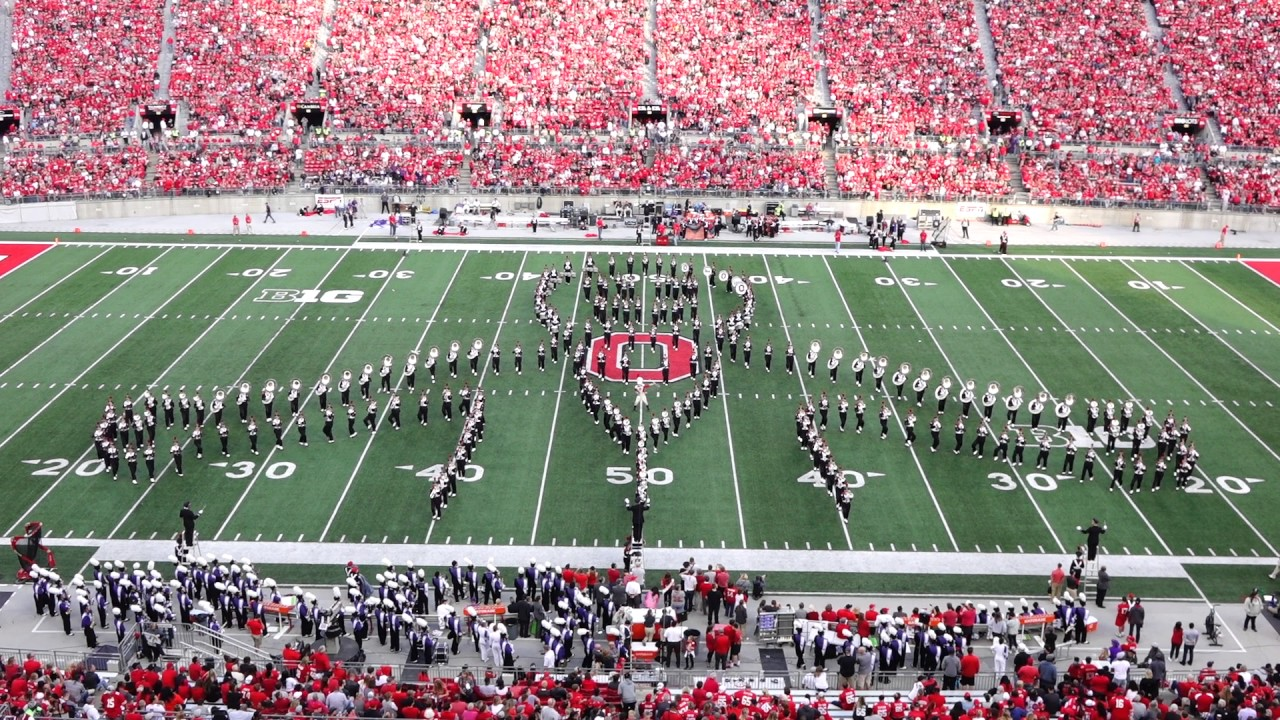 """ohio state marching band halloween """"halftime horrors"""" show october"""
