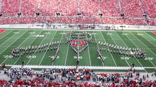 """Ohio State Marching Band HALLOWEEN """"Halftime Horrors"""" Show October 29 2016 OSU vs NW"""