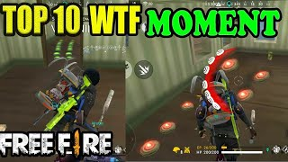 Top 10 WTF Funny Moment|| Free fire WTF moment|| free fire funny || Run gaming tamil
