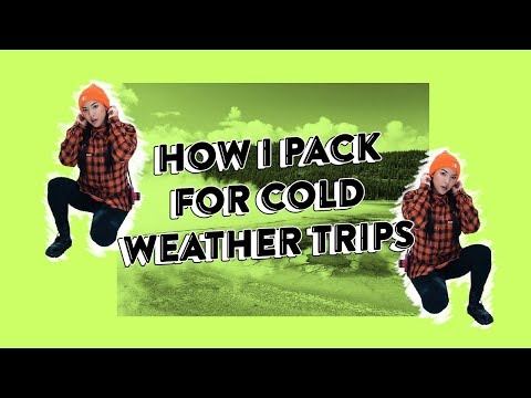 How I Pack For Cold Weather Trips | soothingsista