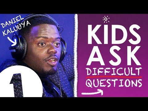 'Are you rich?!': Kids Ask Daniel Kaluuya Difficult Questions