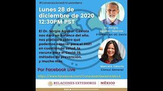 Conversación con Dr Sergio Aguilar-Gaxiola | 28 de diciembre