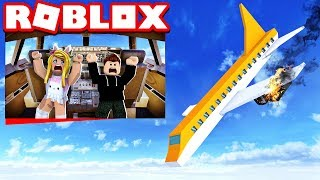 ARE WE SURVIVING THE PLANE CRASH!? Roblox [English/HD]