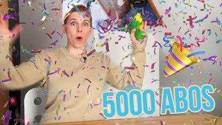 Danke für 5000 Abos! Schickt uns eure Fragen fürs Q&A