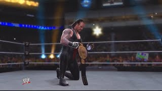 WWE 2K14: 30 Years of WrestleMania - Ruthless Aggression Era - 9 (Undertaker vs Batista - WM 23)