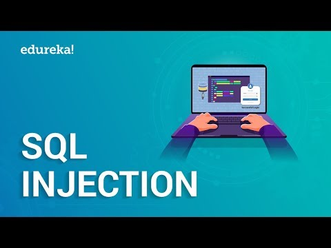 What is SQL Injection?   SQL Injection Tutorial   Cybersecurity Training   Edureka
