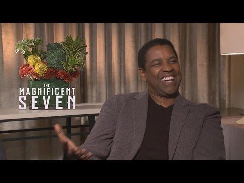 Denzel Washington & Antoine Fuqua MAGNIFICENT SEVEN Interview