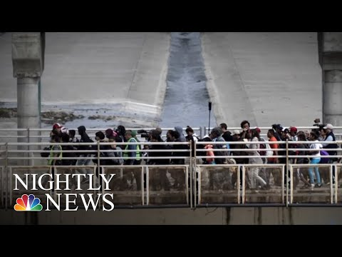 Hundreds Of Migrant Kids Stuck At Border Stations   NBC Nightly News