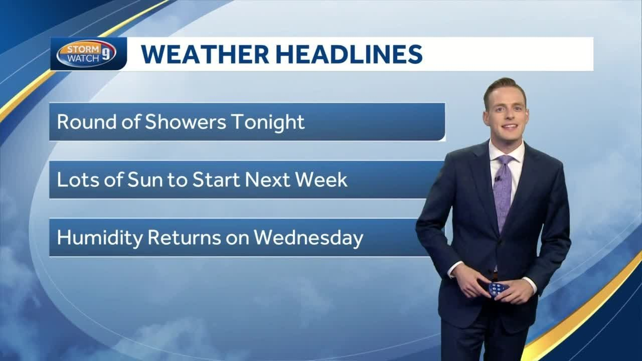 Watch: Cool weather continues into next week