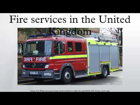 Fire services in the United Kingdom